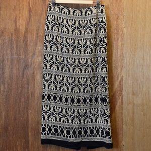 Women's TALBOTS Silk Skirt, 10